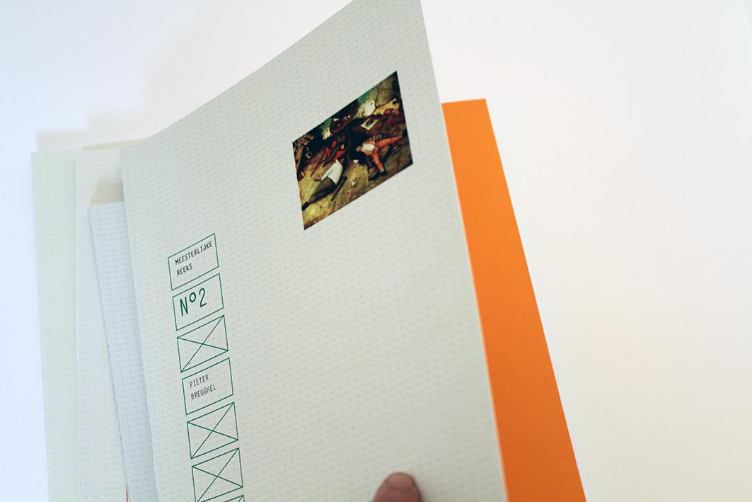 Meesterlijke reeks cover lay-out